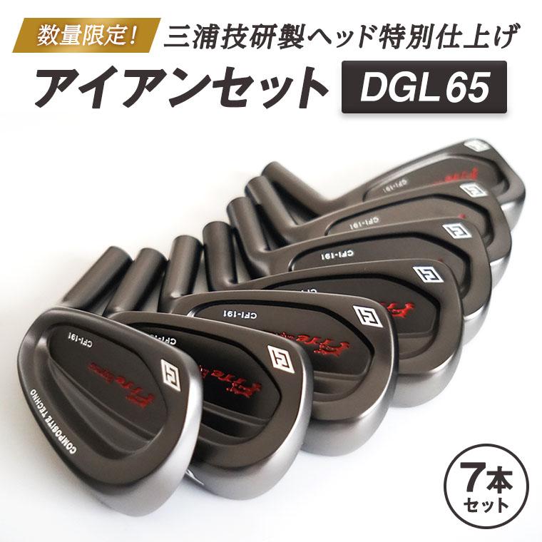 数量限定!三浦技研製ヘッド特別仕上げアイアンセットDGL65