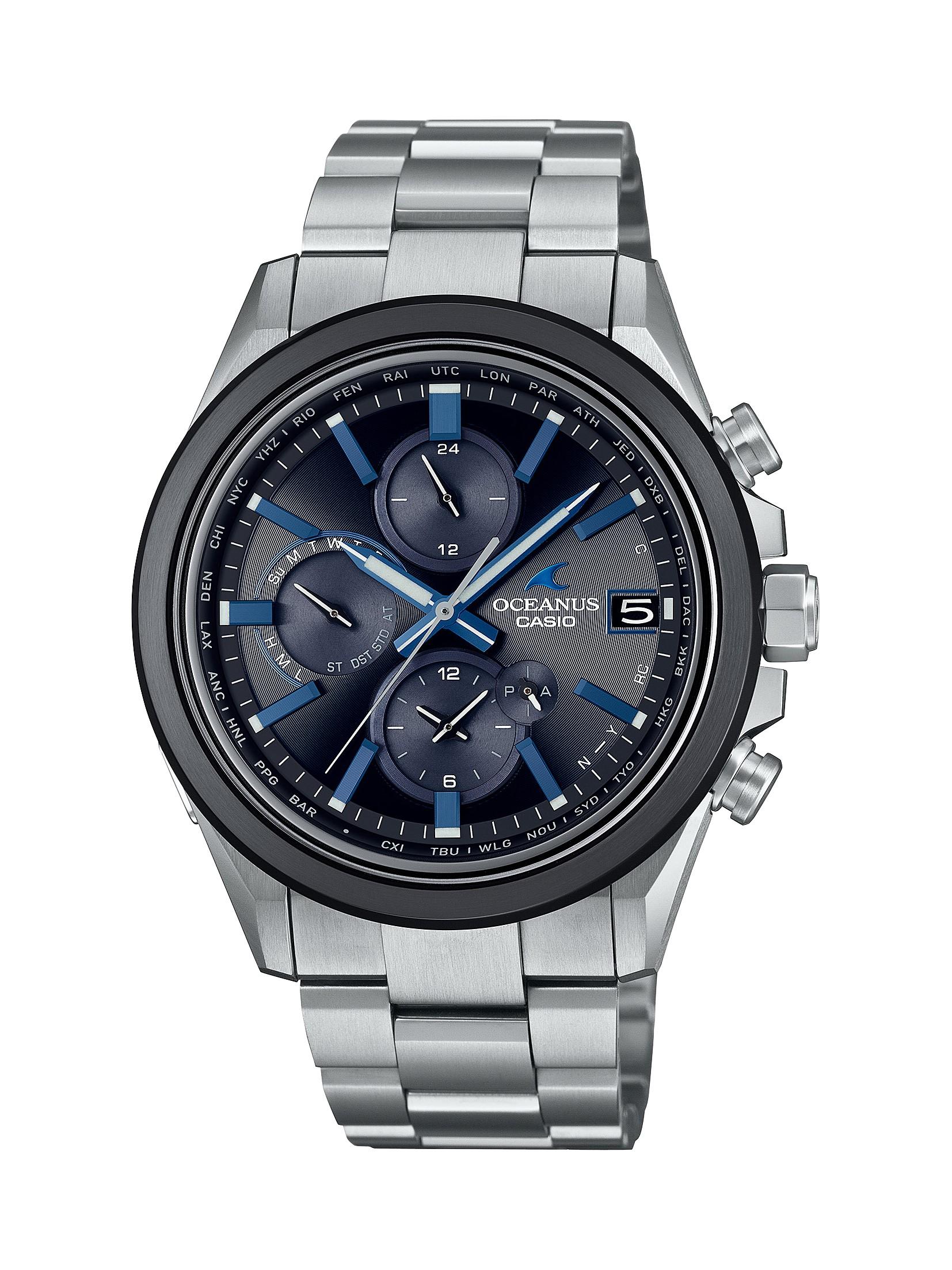 CASIO腕時計 OCEANUS OCW-T4000A-1AJF C-0157
