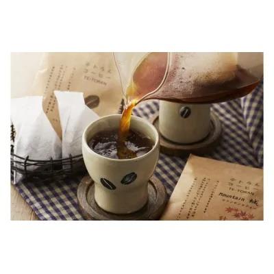 【毎月お届け】器具のいらないコーヒーパック テトラんコーヒー_PB0046