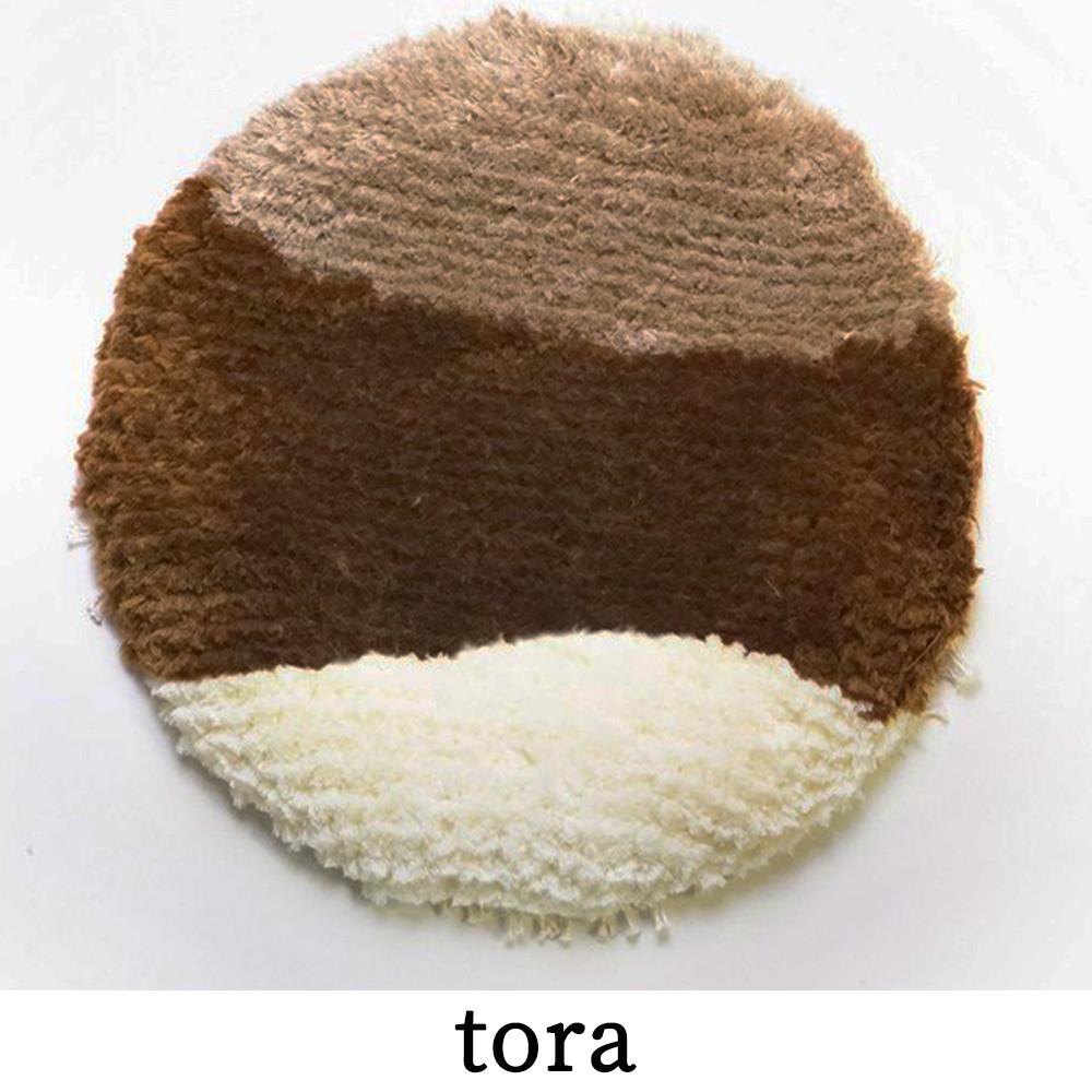 P5 ノッティング織 椅子敷き-tora(大/丸)