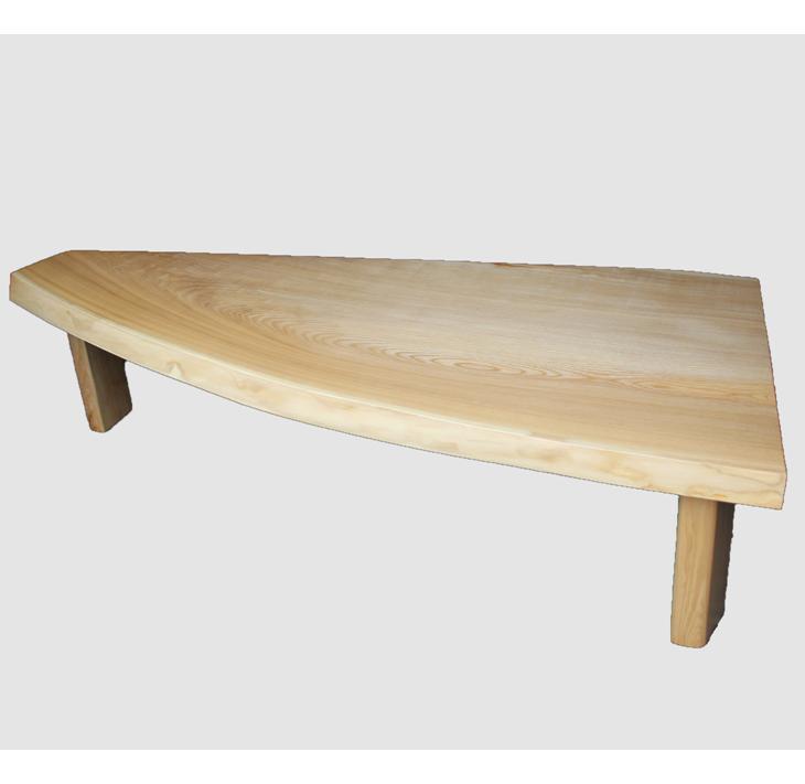 [10]座卓(テーブル)セン・一枚天板【厚さ約4.2cm 11kg】