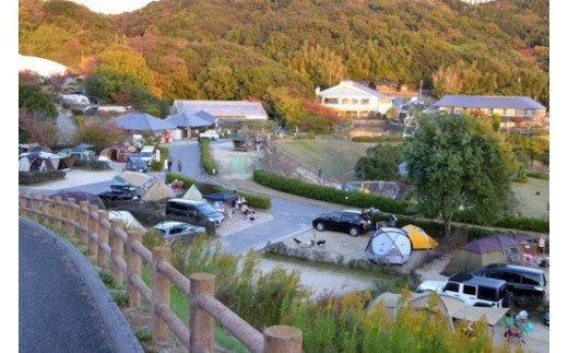 X013:ウェルネスパーク五色「オートキャンプ場」宿泊利用券