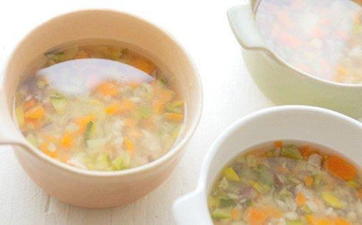 21-381.四万十鶏とゴロゴロ根野菜のスープ<ペットフード>