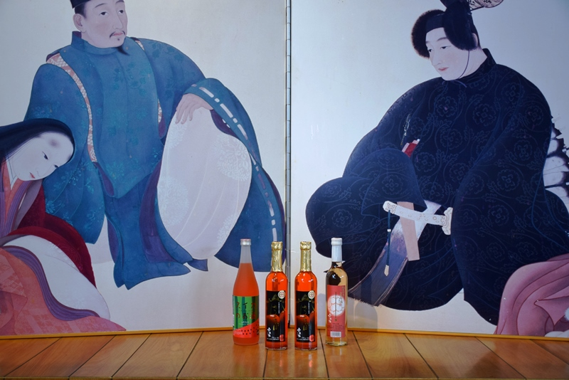 六歌仙 フルーティーな果実酒セットⅡ A-0133