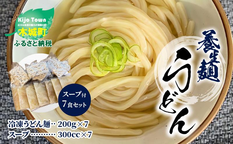 K10_0004 養生麺うどんセット(冷凍)スープ付き