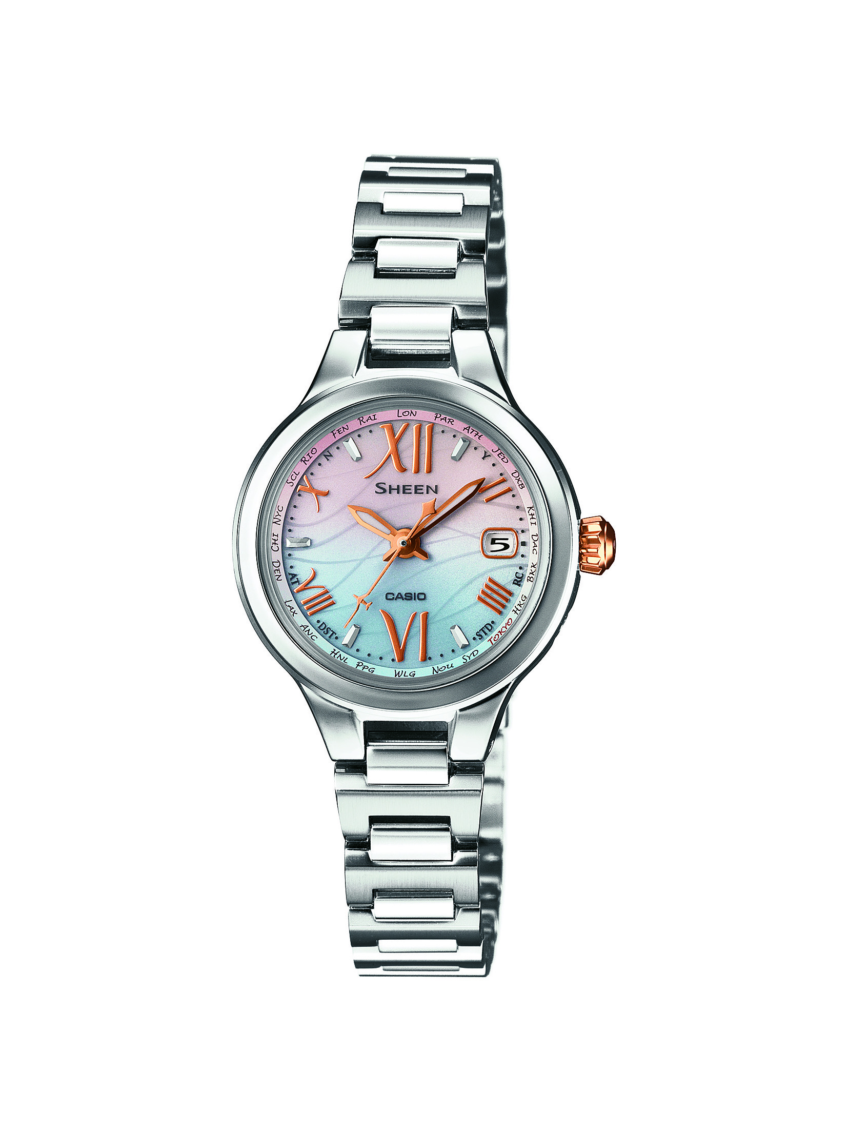 CASIO腕時計 SHEEN SHW-1700D-7AJF C-0125