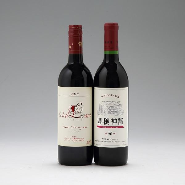 月山ワイン ヤマソービニオン赤(2本セット)