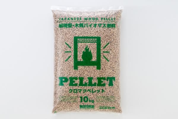 庄内の木質ペレット(クロマツ)