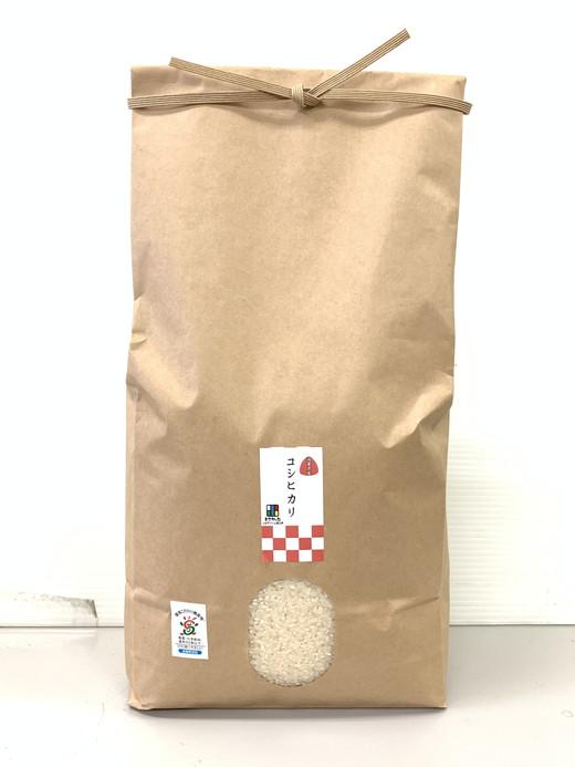 【新米】令和3年産 環境こだわり米「コシヒカリ」白米【5kg×1袋】【K123SM1】