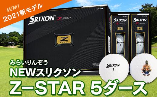 【2021新モデル】NEWスリクソンZ-STAR 5ダース
