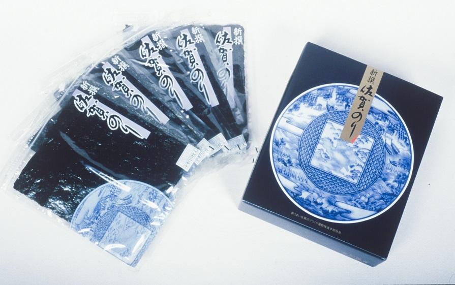 CJ006_【贈答用】新撰佐賀のり/海苔/ノリ (焼きのり全形10枚×5袋)
