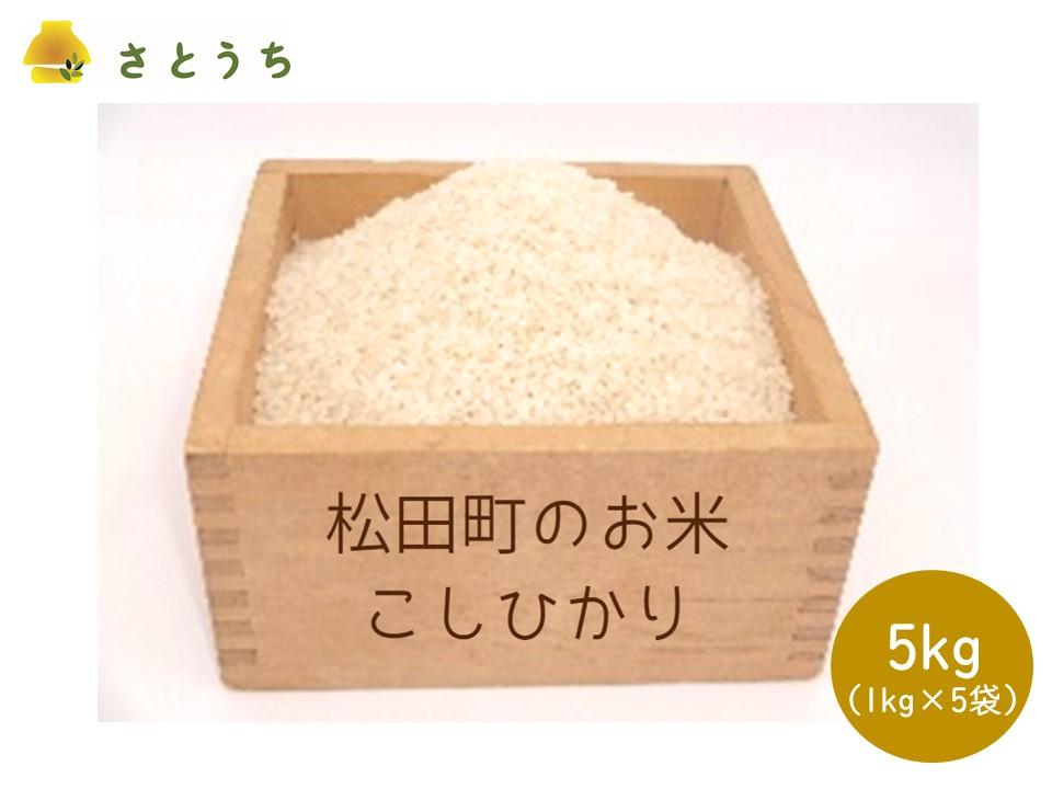 【訳あり・農家直送】松田町のお米(こしひかり) 5kg