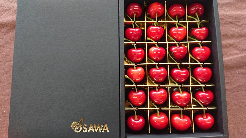 【先行予約】ドラマチックさくらんぼ ギフト箱入り厳選24粒