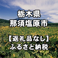 154-jitai 栃木県那須塩原市への寄付(返礼品はありません)