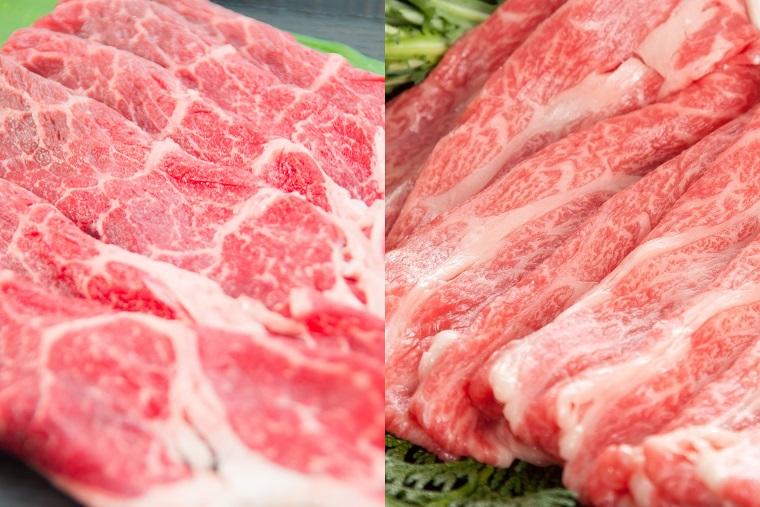 EN009_佐賀牛食べ比べセット(カタ肉270g モモ肉250g)
