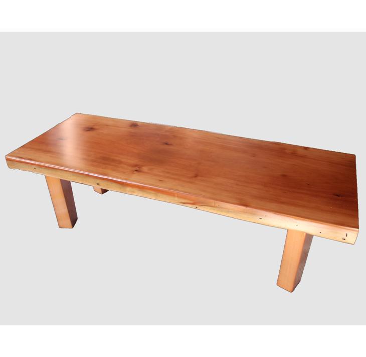 [31]座卓(テーブル)カツラ・一枚天板【厚さ約5.5cm】
