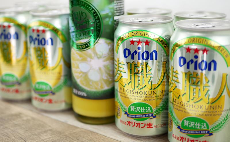 《Orion》麦職人&青切りシークヮサー100%ジュースセット