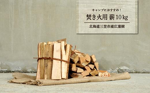 ≪キャンプにおすすめ!≫薪(広葉樹)キャンプストーブ・焚き火用 約10kg【01120】