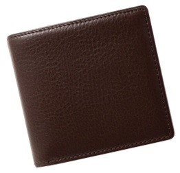 [FE-12] SOMES FE-12 2つ折財布(チョコブラウン)