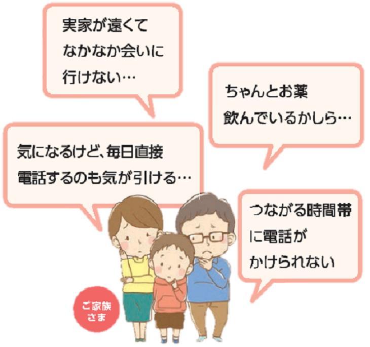 日本郵便 郵便局のみまもりサービス「みまもりでんわサービス」(6ヶ月)
