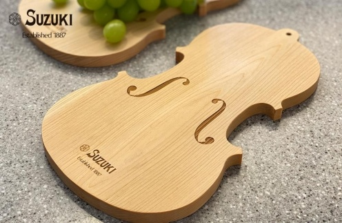 バイオリン職人が作ったカッティングボード