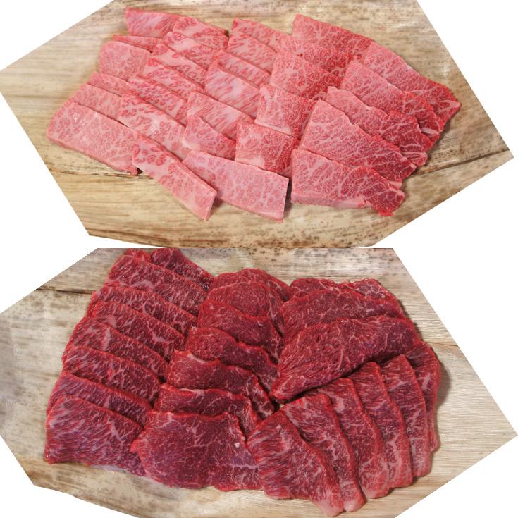 【A-025】大吉商店 近江牛焼肉用食べ比べセットA [高島屋選定品]
