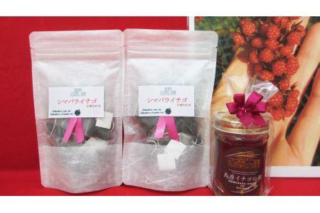 AC011美味しく美容と健康に「紅茶と蜂蜜の島原イチゴセット30」