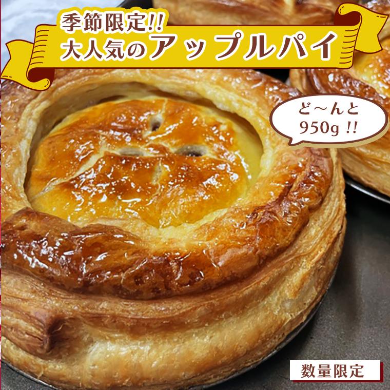 【数量限定】【季節限定】大人気のアップルパイ(化粧箱入り)