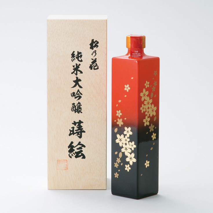 【I-925】川島酒造 松の花純米大吟醸蒔絵ボトル [高島屋選定品]