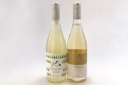 アメリカ系ブドウ白ワインペア -ナイアガラ&デラウェア 750ml×各1本-《楠わいなりー》