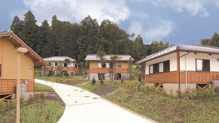 【宿泊券・1泊分】 都留戸沢の森 和みの里 和風コテージ 一位の宿