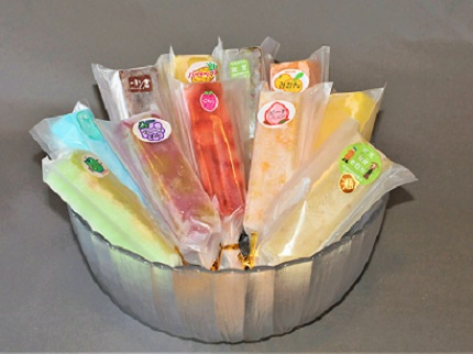 老舗和菓子屋がお届けする、溶けないアイス! くずバー15本セット