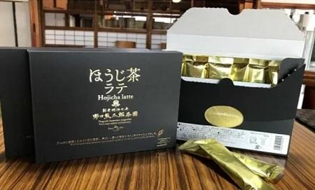 K1640 老舗茶園野口徳太郎商店 ほうじ茶ラテ36本セット(スティックタイプ)