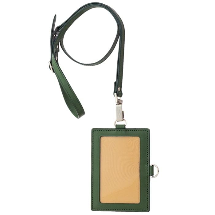 [AN-76] SOMES AN-76 IDカードケース&ネックストラップ(グリーン)