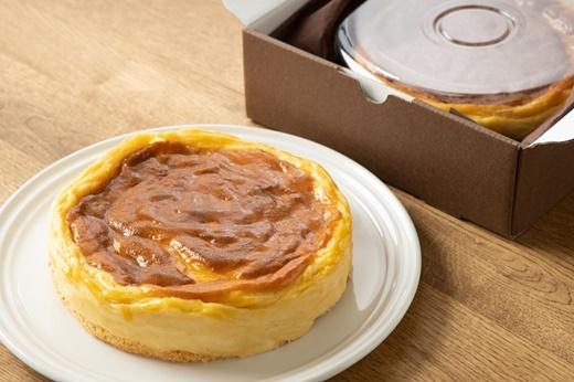 畑の中のレストランEKARA「三笠米粉のチーズケーキ」【01093】