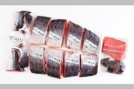 C4008 塩引鮭一尾(切身)