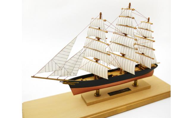 No.178 Woody JOE製 木製帆船模型キット 木製ミニ帆船 カティサーク(工具・接着剤・塗料計7点付) / 木製キット 千葉県