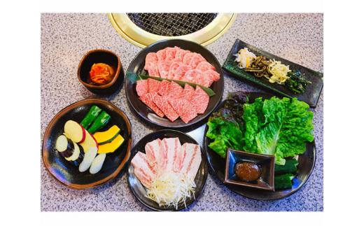 No.176 煉華亭 ふるさと焼肉Aセット 食事券 / チケット やきにく 2名様分 千葉県