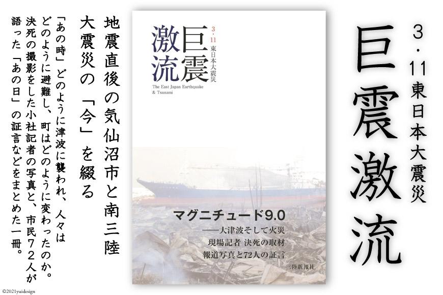震災記録集「巨震激流(3.11東日本大震災)」