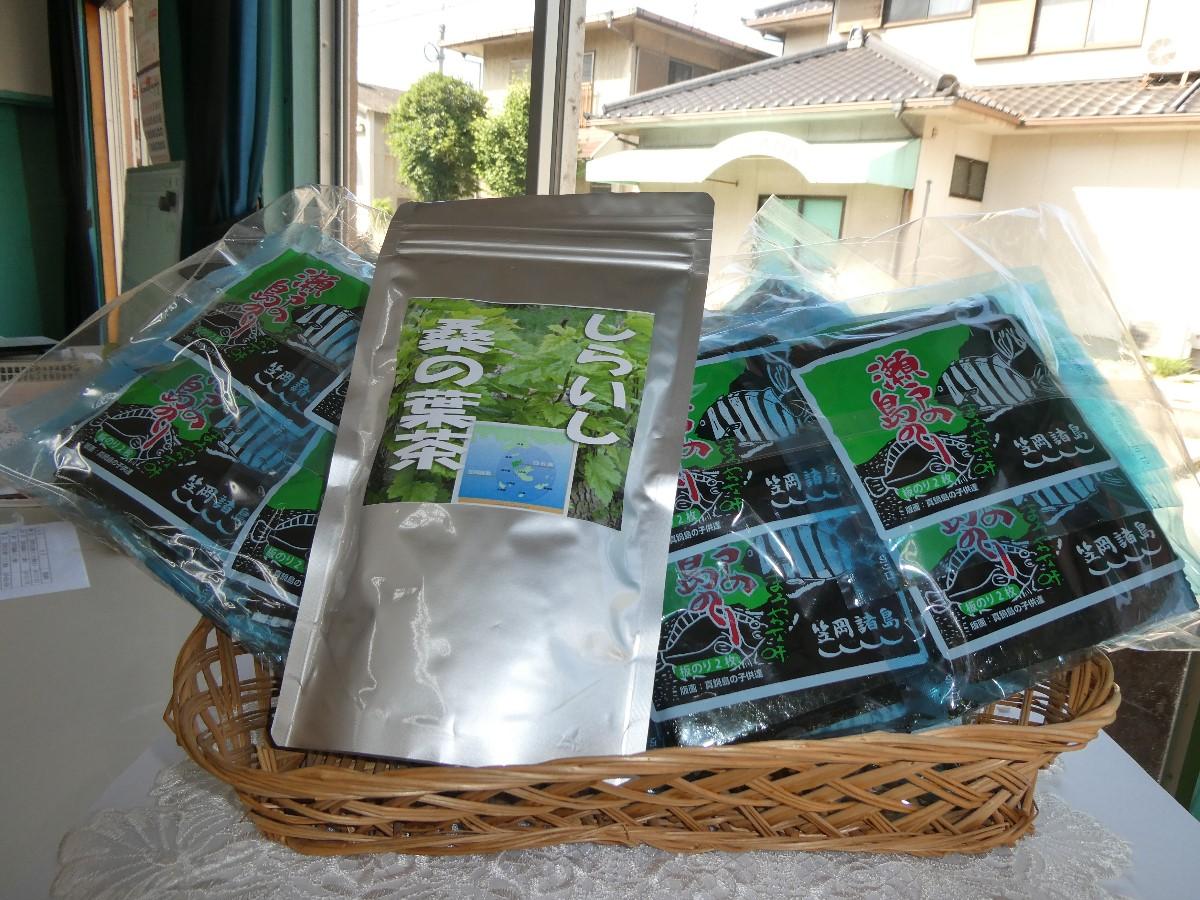 A-131 笠岡諸島からの贈り物 「瀬戸の島のり(まろやか)」&季節の商品 Bセット