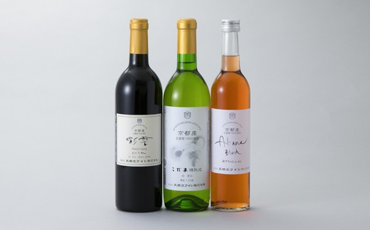 024M19 天橋立ワイン 飲み比べ3本セット[髙島屋選定品]