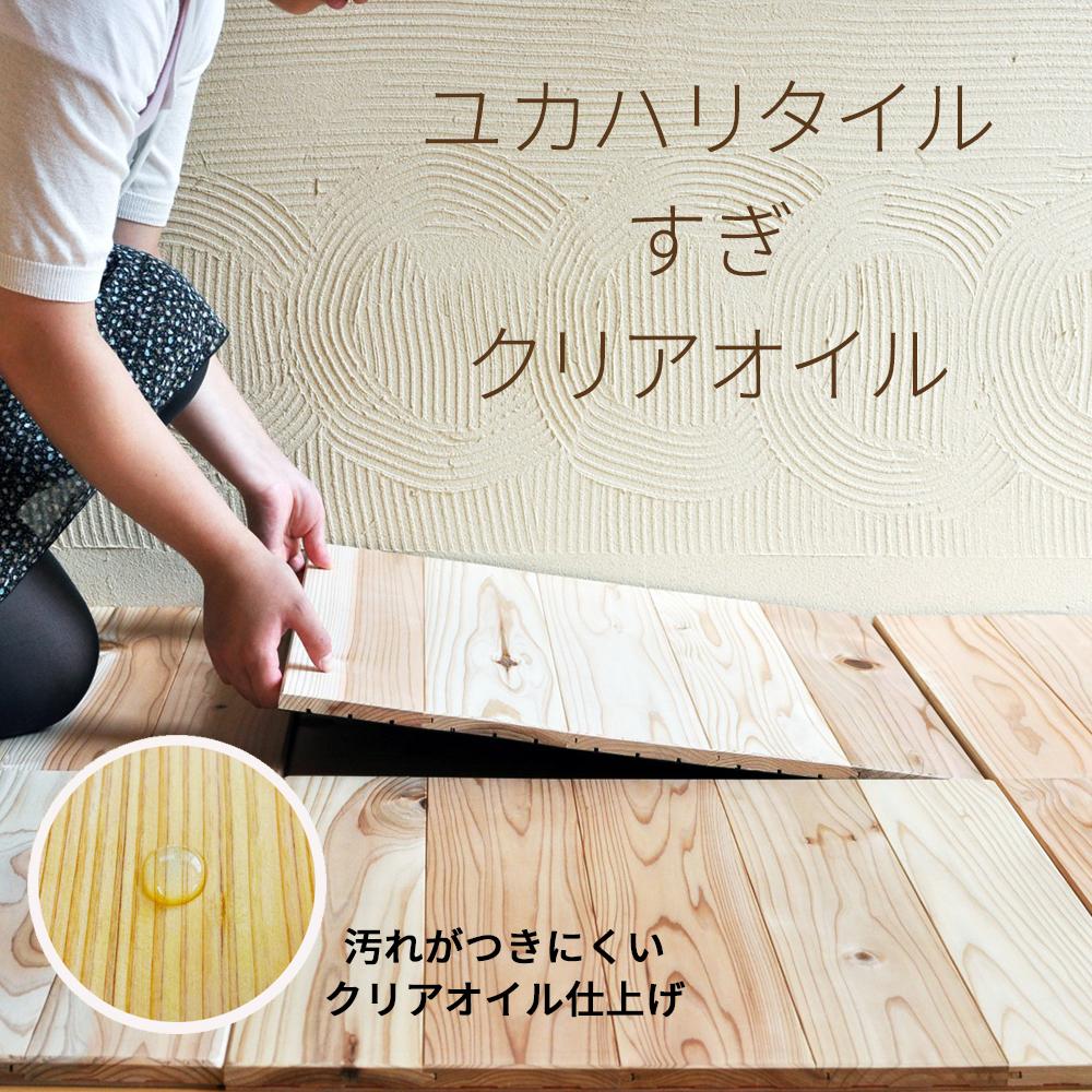 <M5 ユカハリ・タイル すぎ クリア>