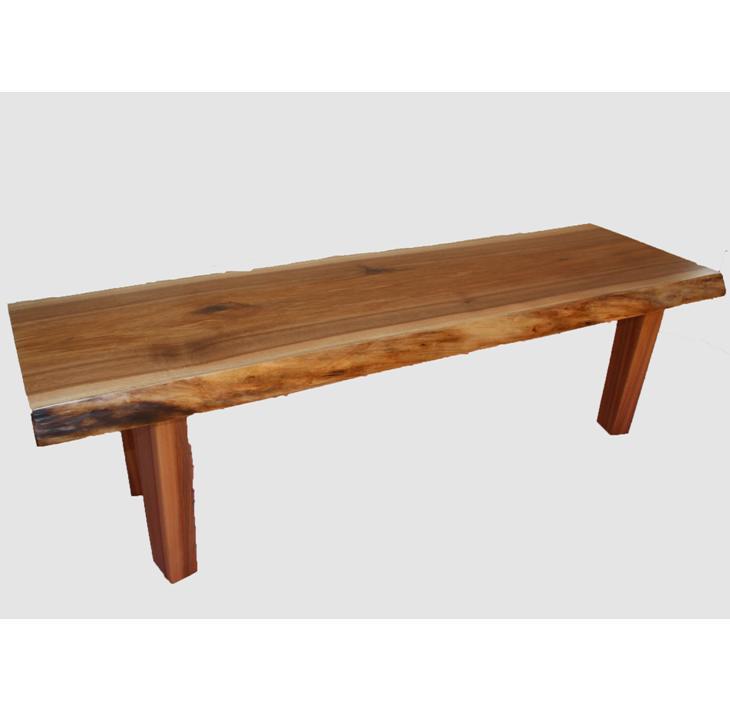 [36]座卓(テーブル)クルミ・一枚天板【厚さ約4cm】