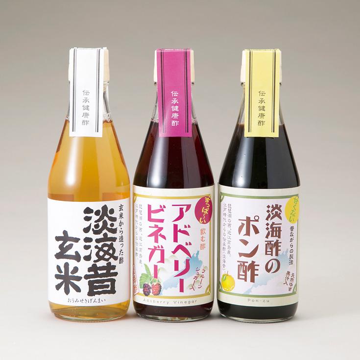 【G-972】淡海酢 淡海酢詰め合わせA [高島屋選定品]