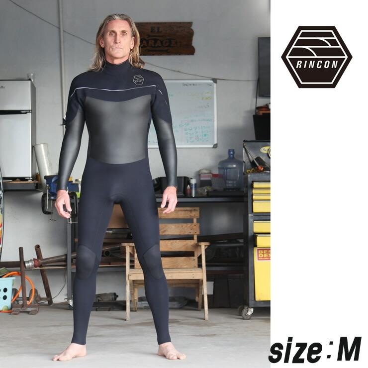 23-0039 ウエットスーツ RINCON 3/2mm icon-Shell-Light フルスーツ FALL/WINTER仕様  Mサイズ