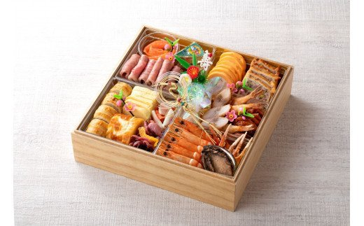 名鉄小牧ホテルのおせち料理(洋風一段)冷蔵 16品 2~3人前 2022年 [018M05]