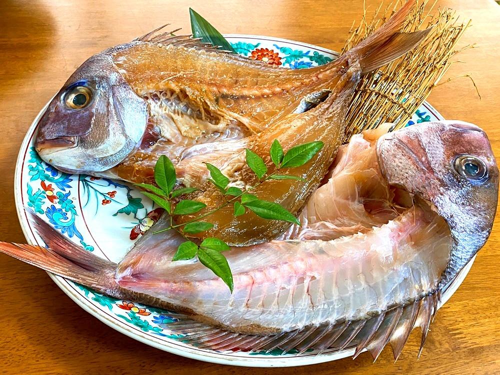 390.天然鯛活干物(2匹セット)