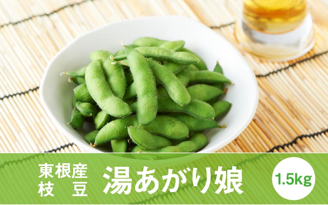 枝豆「湯あがり娘」1.5kg(2021年8月中旬~下旬送付) P-1560
