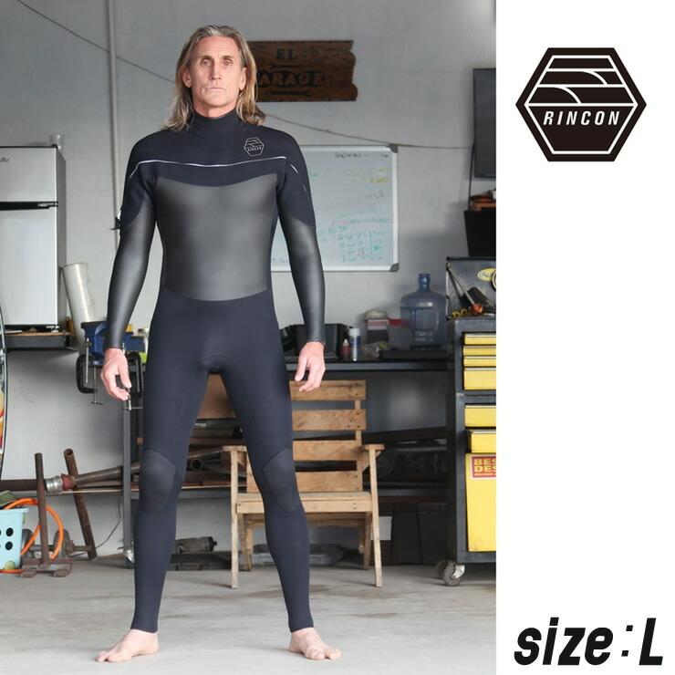 23-0042 ウエットスーツ RINCON 3/2mm icon-Shell-Light フルスーツ FALL/WINTER仕様  Lサイズ