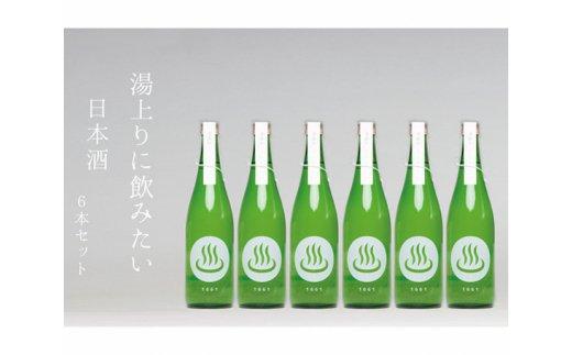 No.189 日本酒「温泉マーク1661」720ml 6本セット / お酒 磯部温泉 群馬県